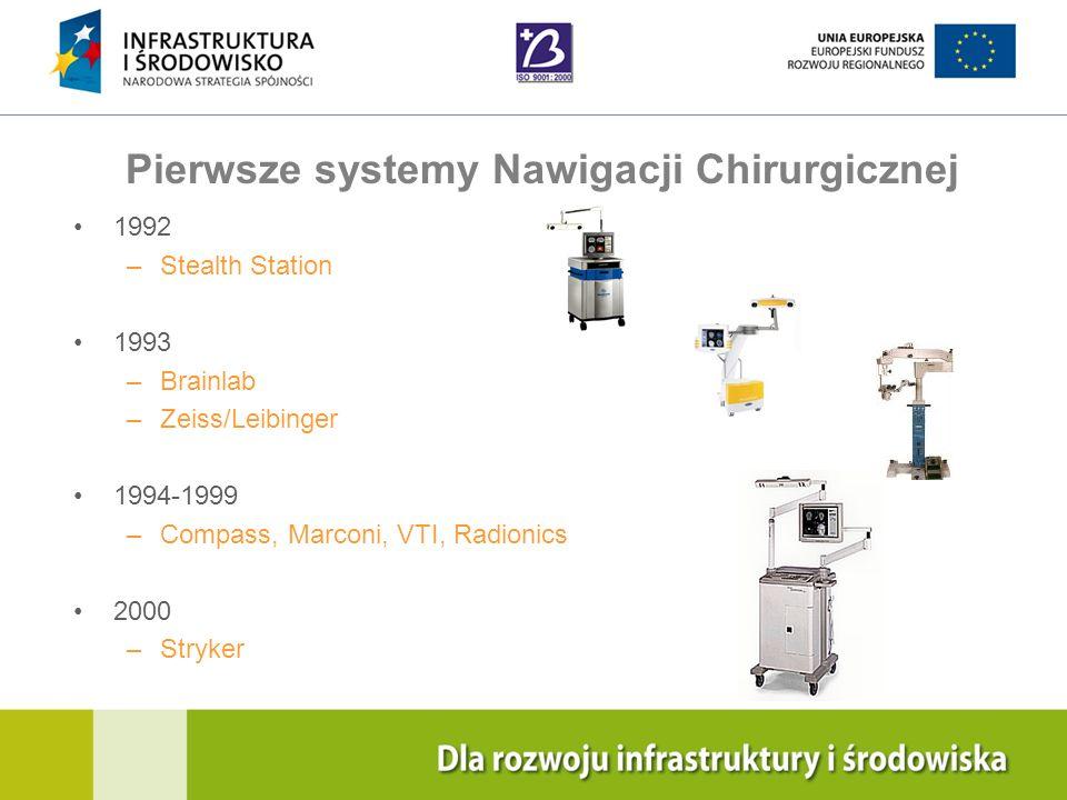 Pierwsze systemy Nawigacji Chirurgicznej