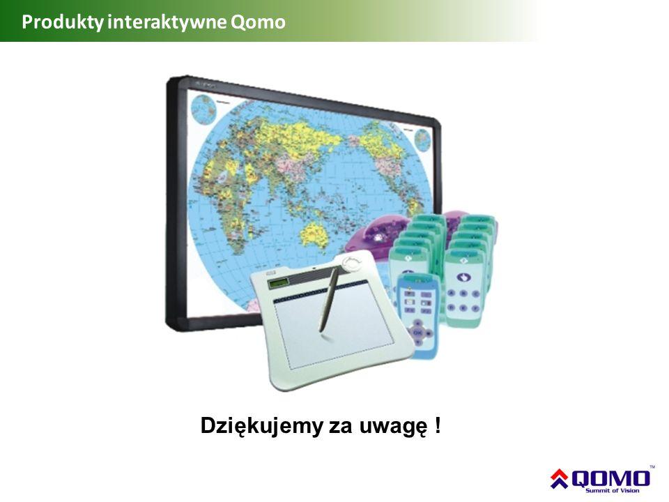 Produkty interaktywne Qomo