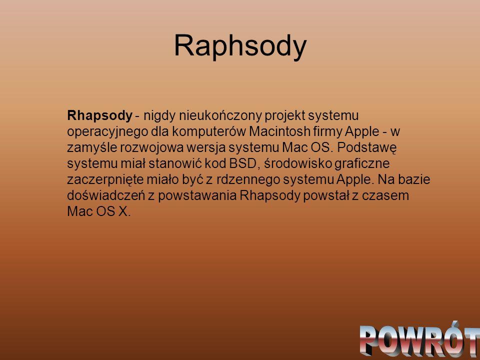 Raphsody
