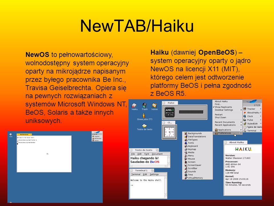 NewTAB/Haiku