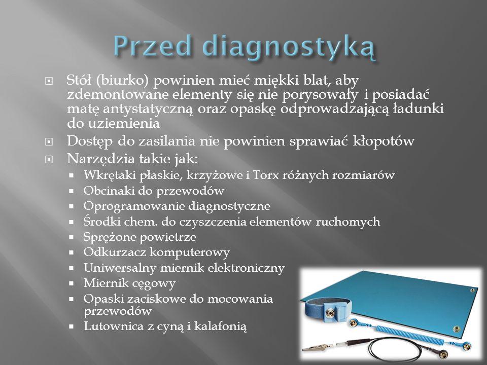 Przed diagnostyką