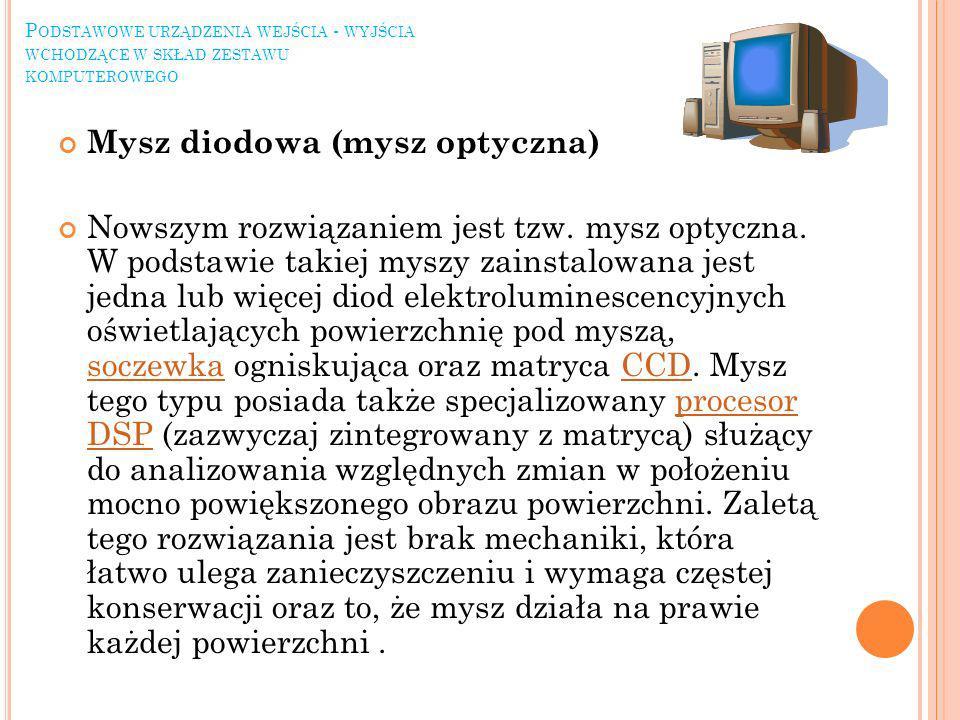 Mysz diodowa (mysz optyczna)