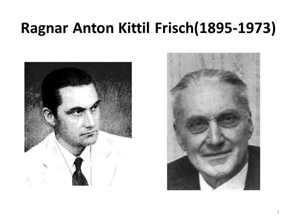 Ragnar Anton Kittil Frisch(1895-1973)