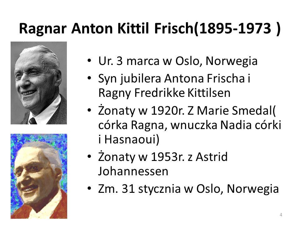 Ragnar Anton Kittil Frisch(1895-1973 )