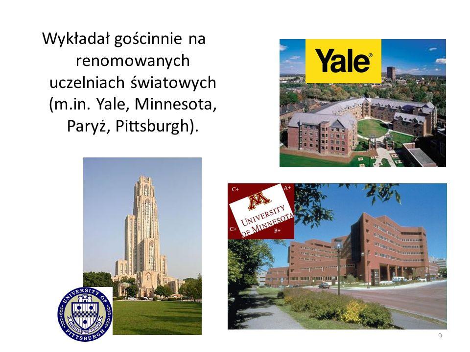 Wykładał gościnnie na renomowanych uczelniach światowych (m. in