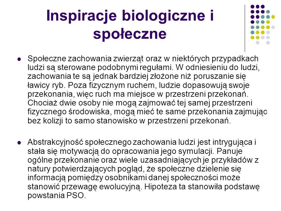 Inspiracje biologiczne i społeczne