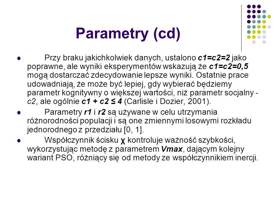 Parametry (cd)