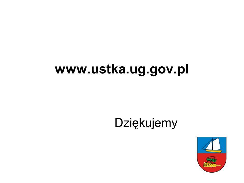 www.ustka.ug.gov.pl Dziękujemy