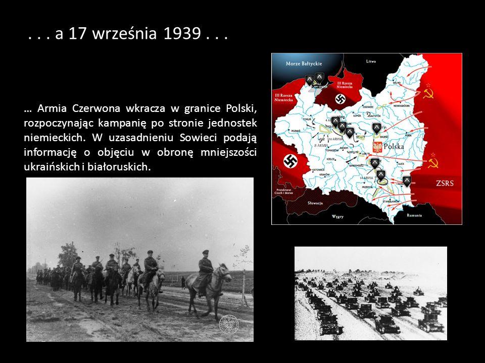 . . . a 17 września 1939 . . .