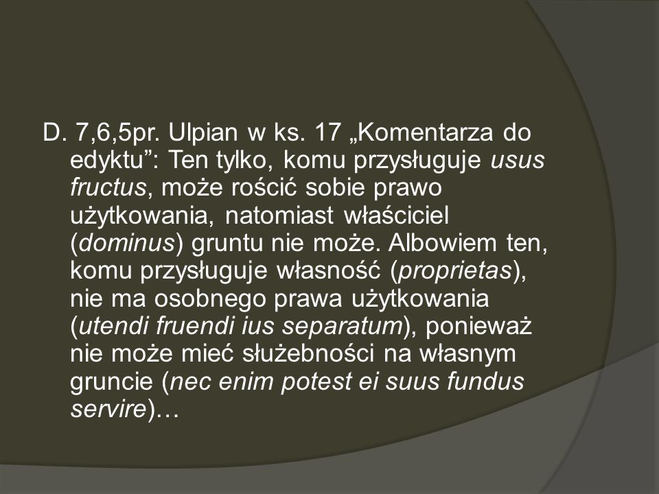 D. 7,6,5pr. Ulpian w ks.