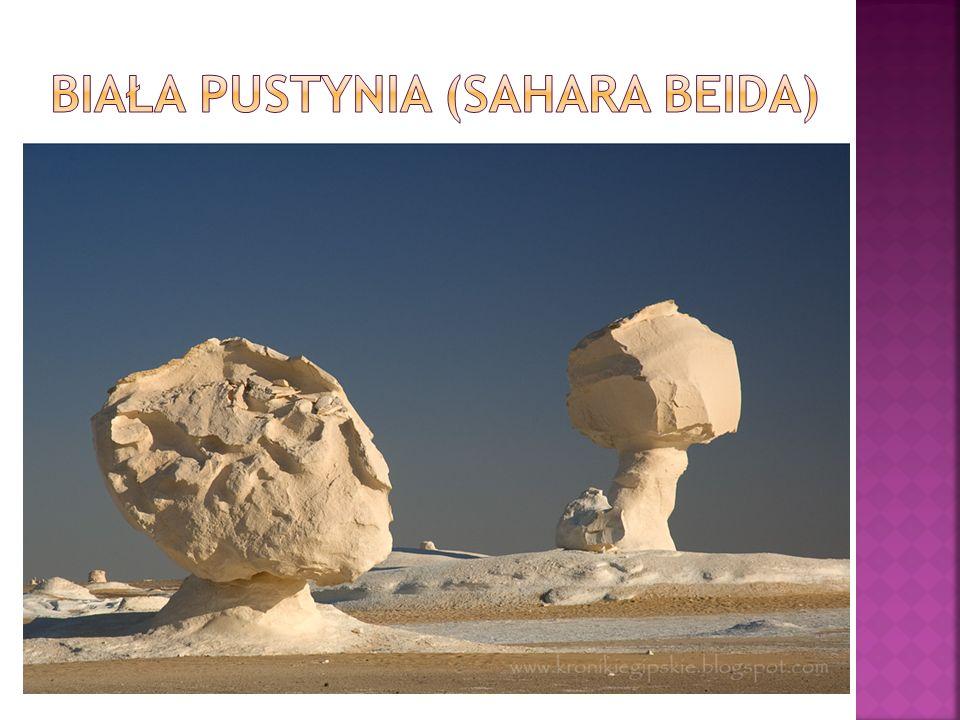 Biała Pustynia (Sahara Beida)
