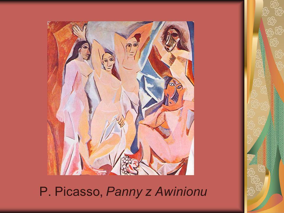 P. Picasso, Panny z Awinionu
