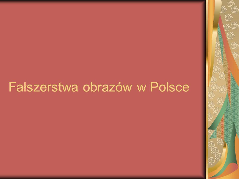 Fałszerstwa obrazów w Polsce