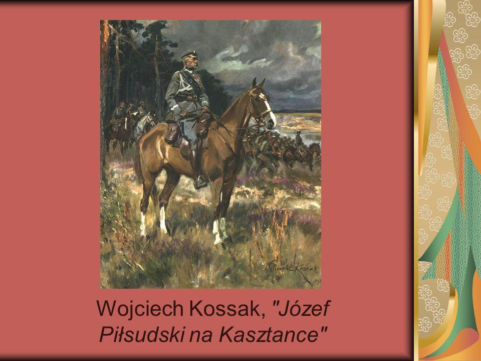 Wojciech Kossak, Józef Piłsudski na Kasztance
