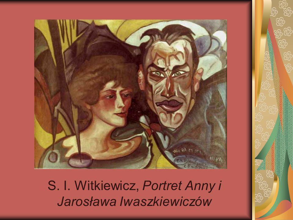 S. I. Witkiewicz, Portret Anny i Jarosława Iwaszkiewiczów
