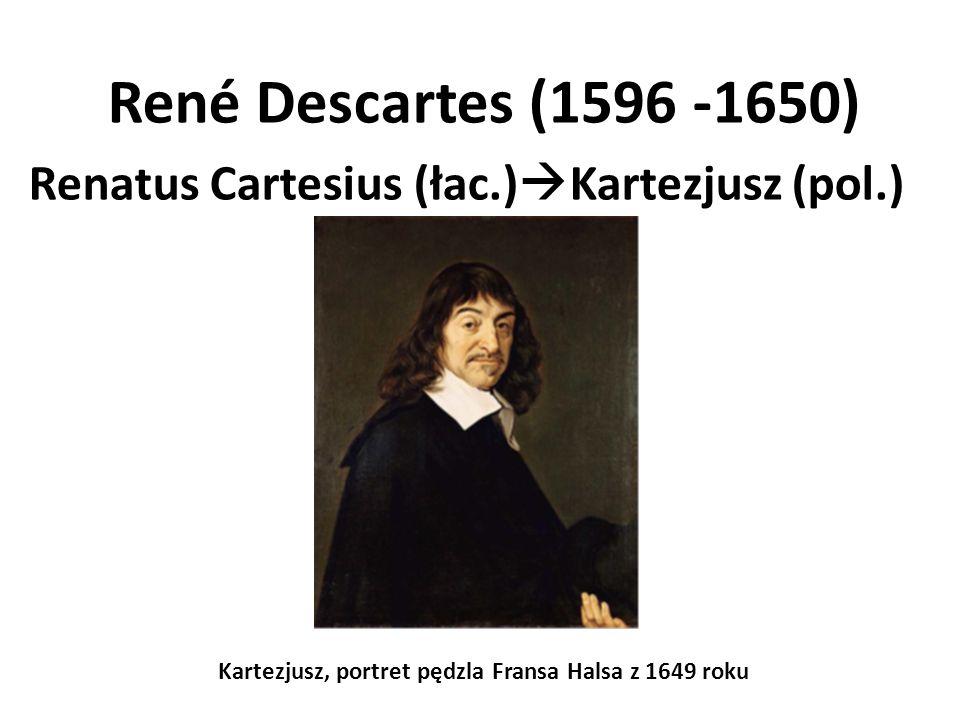 Kartezjusz, portret pędzla Fransa Halsa z 1649 roku