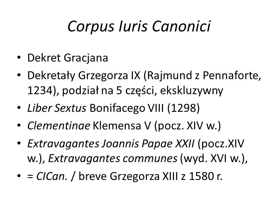 Corpus Iuris Canonici Dekret Gracjana