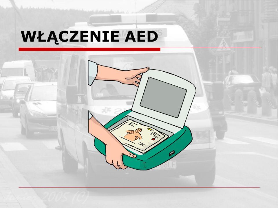 WŁĄCZENIE AED