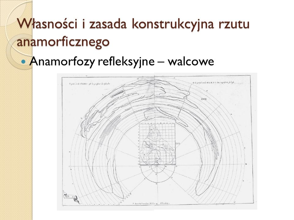 Własności i zasada konstrukcyjna rzutu anamorficznego