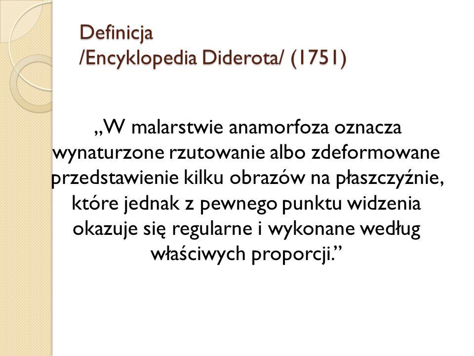 Definicja /Encyklopedia Diderota/ (1751)
