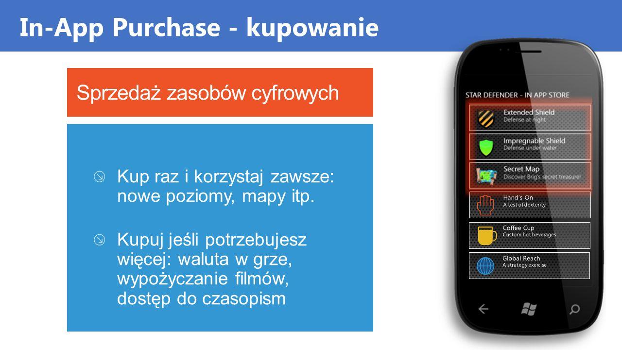In-App Purchase - kupowanie