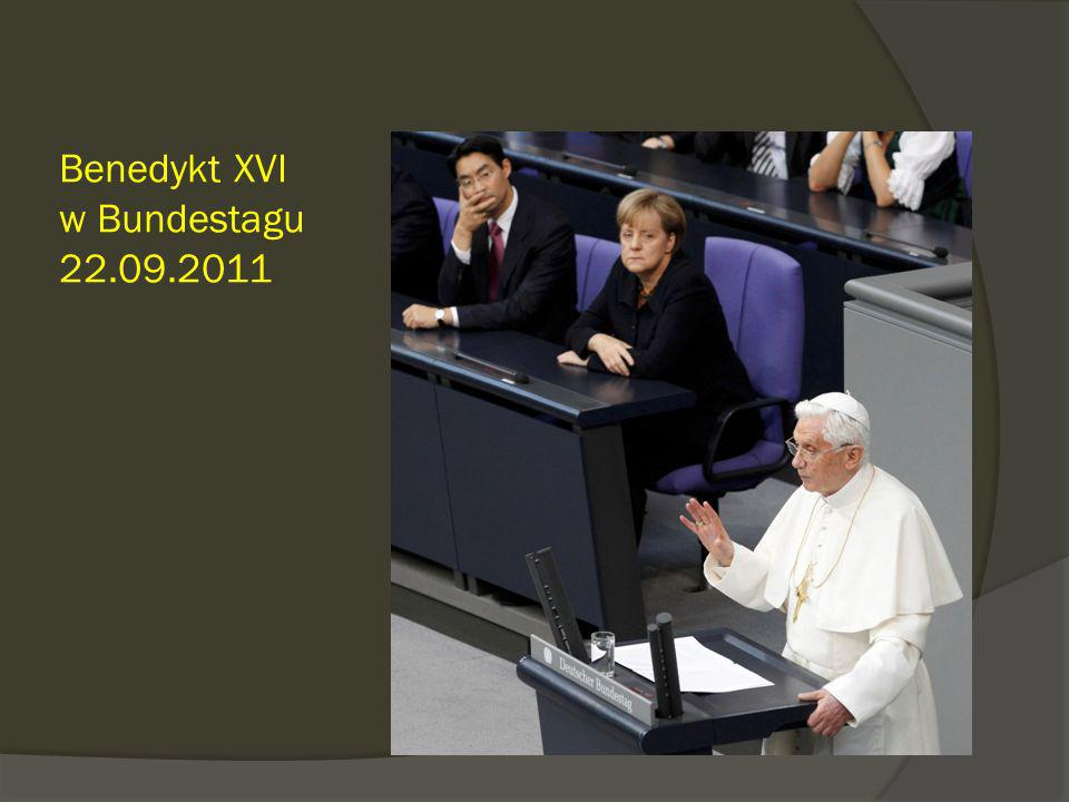 Benedykt XVI w Bundestagu 22.09.2011