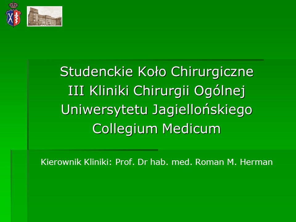 Studenckie Koło Chirurgiczne III Kliniki Chirurgii Ogólnej