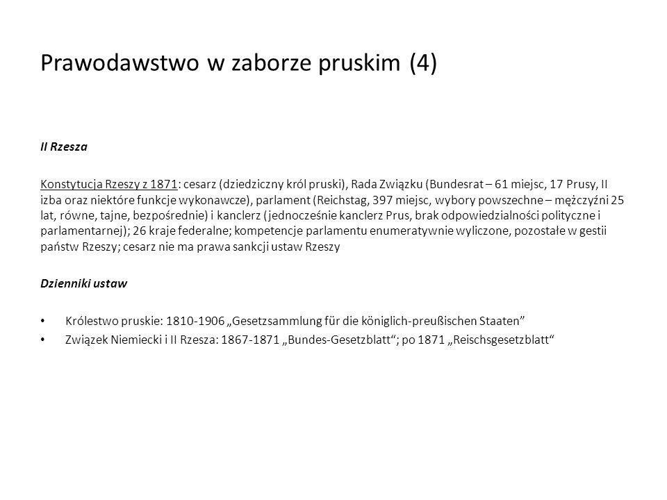 Prawodawstwo w zaborze pruskim (4)