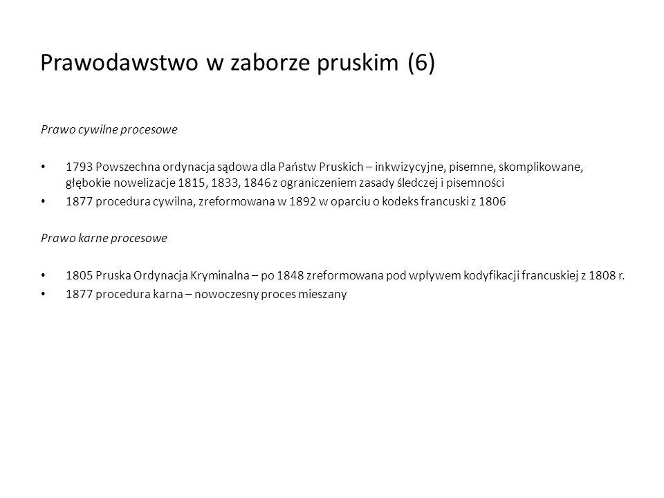 Prawodawstwo w zaborze pruskim (6)