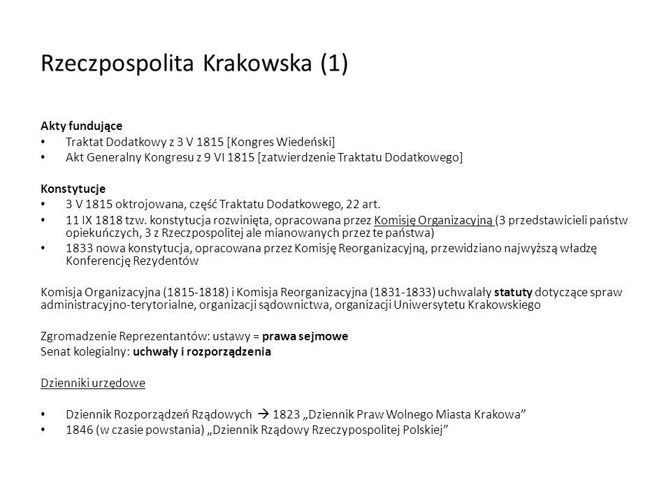 Rzeczpospolita Krakowska (1)