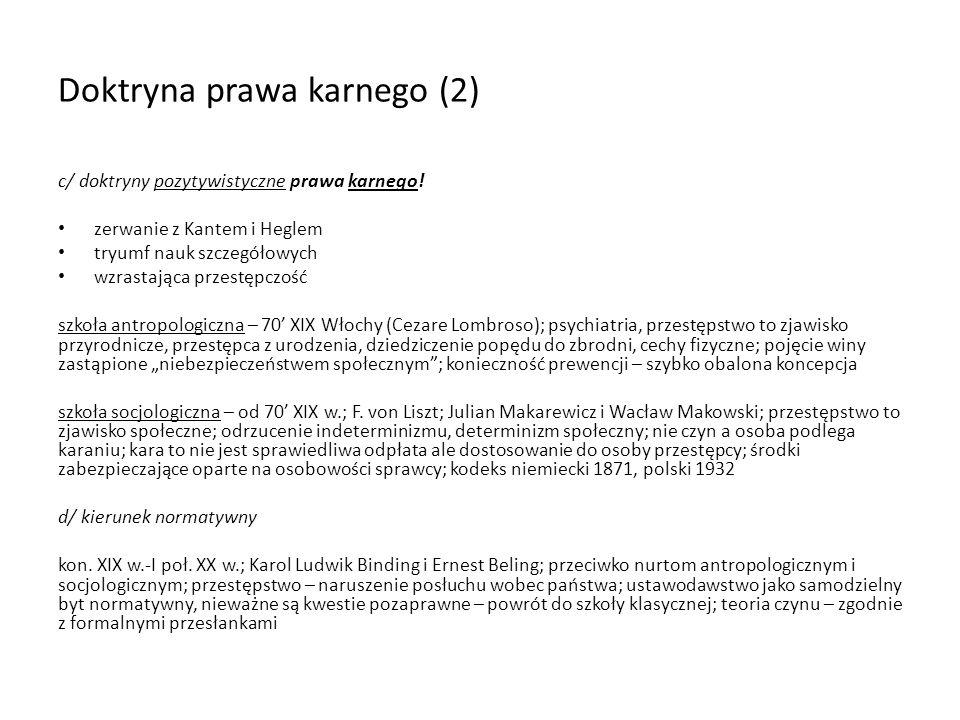 Doktryna prawa karnego (2)