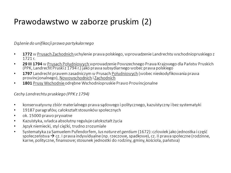 Prawodawstwo w zaborze pruskim (2)