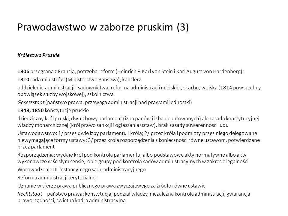 Prawodawstwo w zaborze pruskim (3)