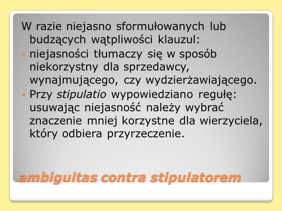 ambiguitas contra stipulatorem