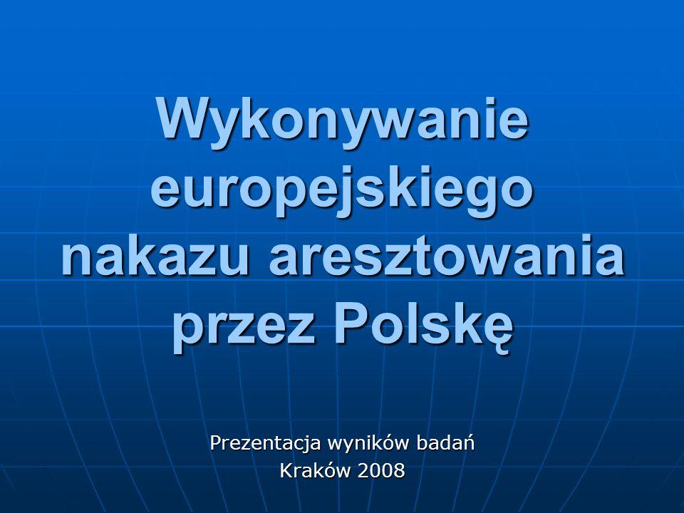 Wykonywanie europejskiego nakazu aresztowania przez Polskę