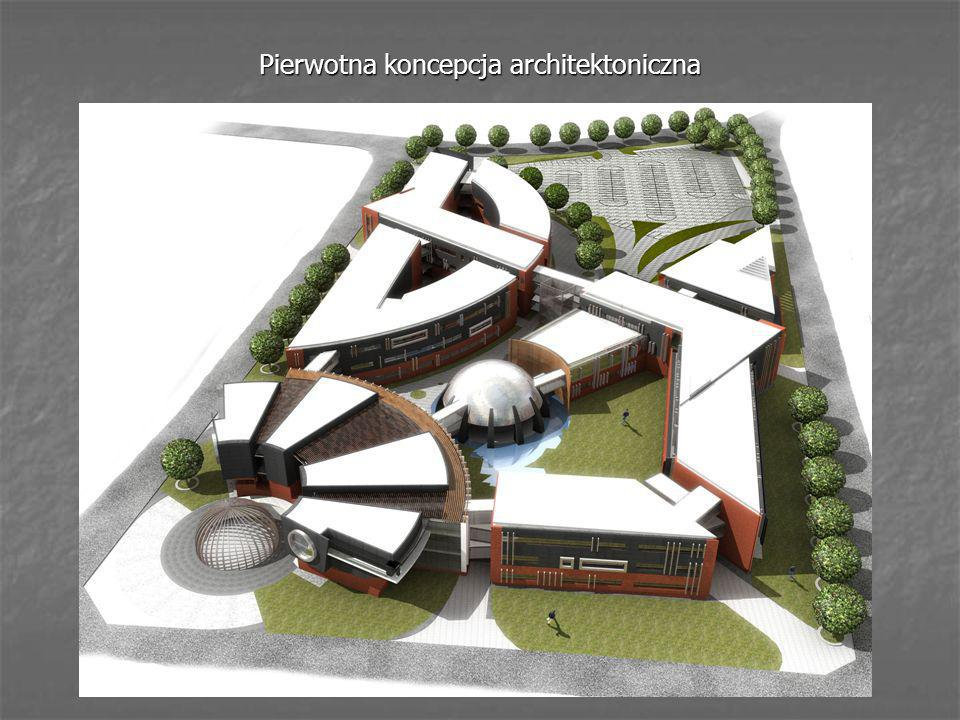 Pierwotna koncepcja architektoniczna