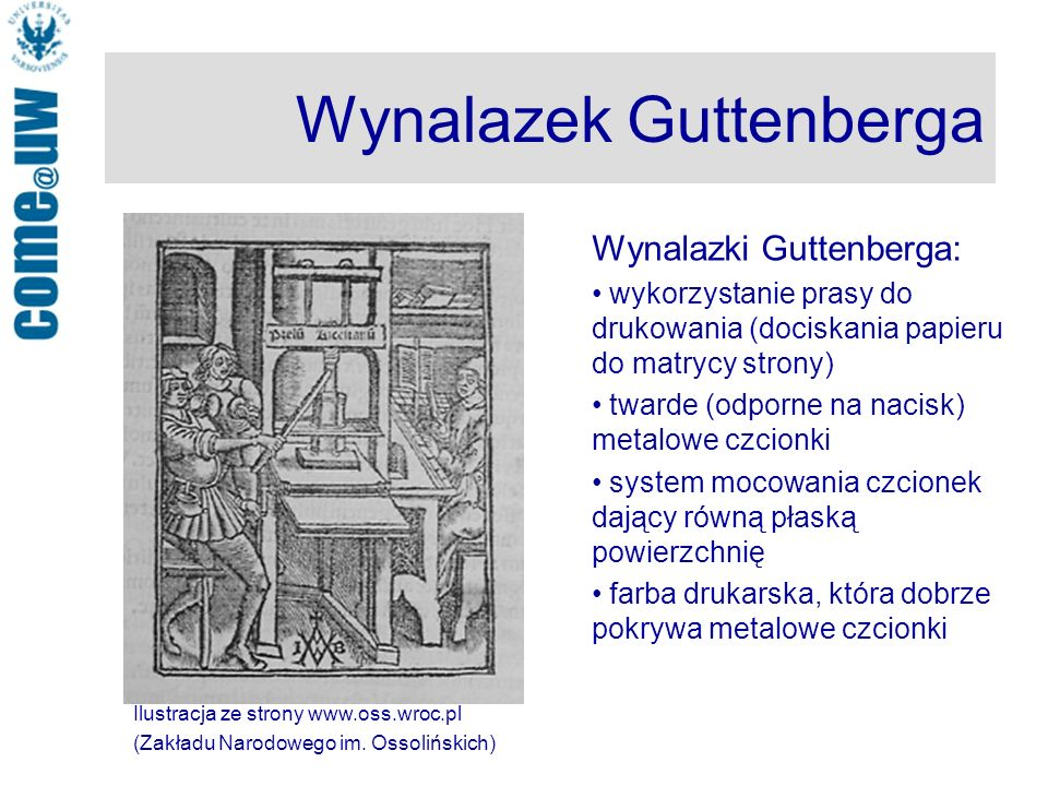 Wynalazek Guttenberga