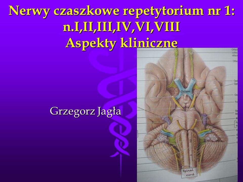 Nerwy czaszkowe repetytorium nr 1: n