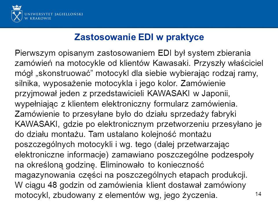 Zastosowanie EDI w praktyce