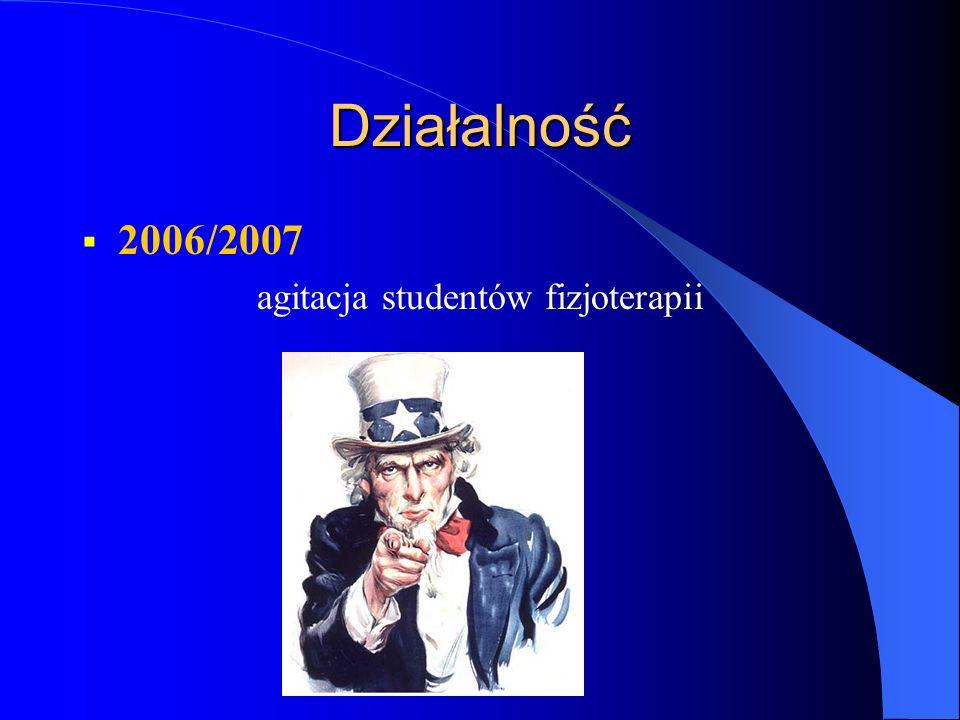 agitacja studentów fizjoterapii