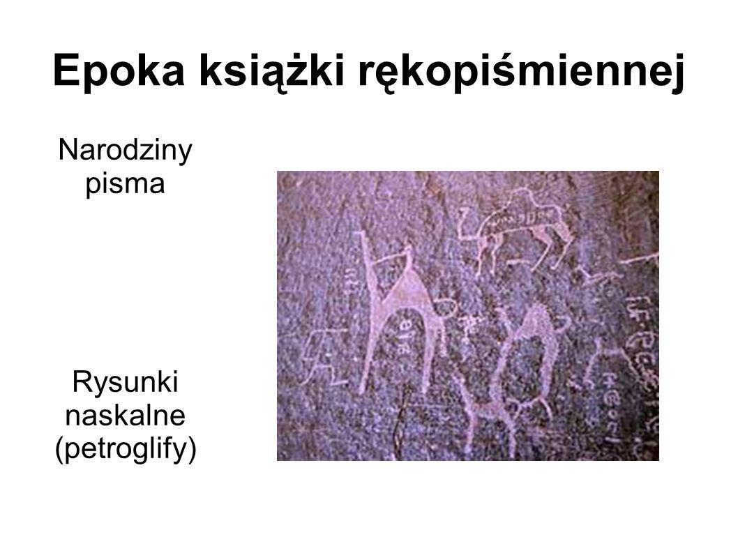 Epoka książki rękopiśmiennej