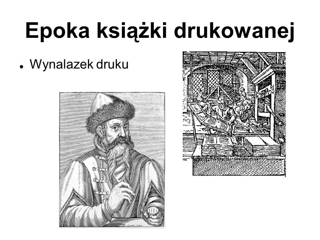 Epoka książki drukowanej