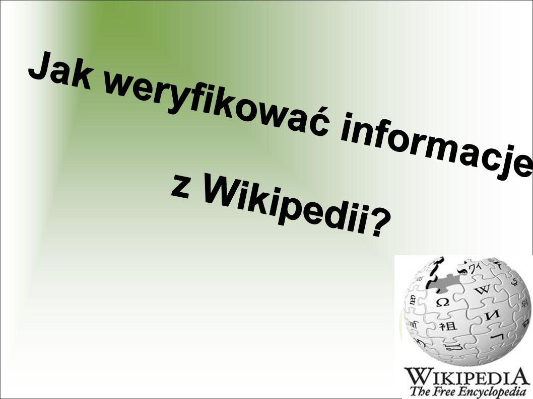 Jak weryfikować informacje