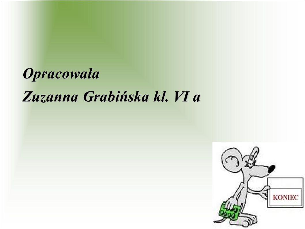 Opracowała Zuzanna Grabińska kl. VI a