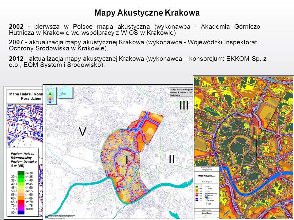 Mapy Akustyczne Krakowa