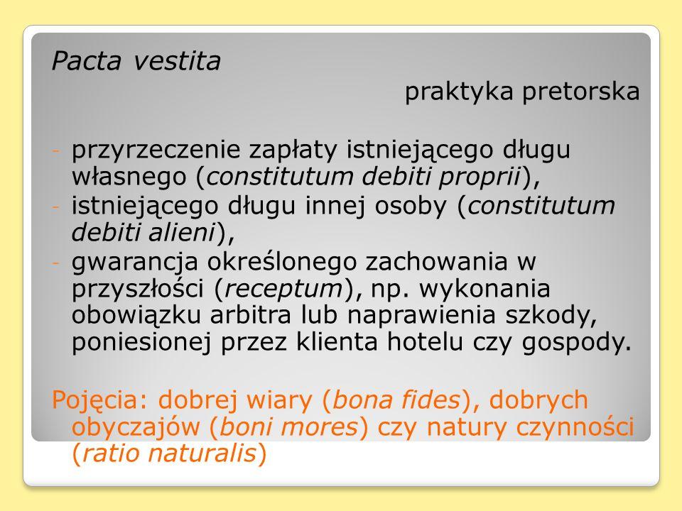 Pacta vestita praktyka pretorska
