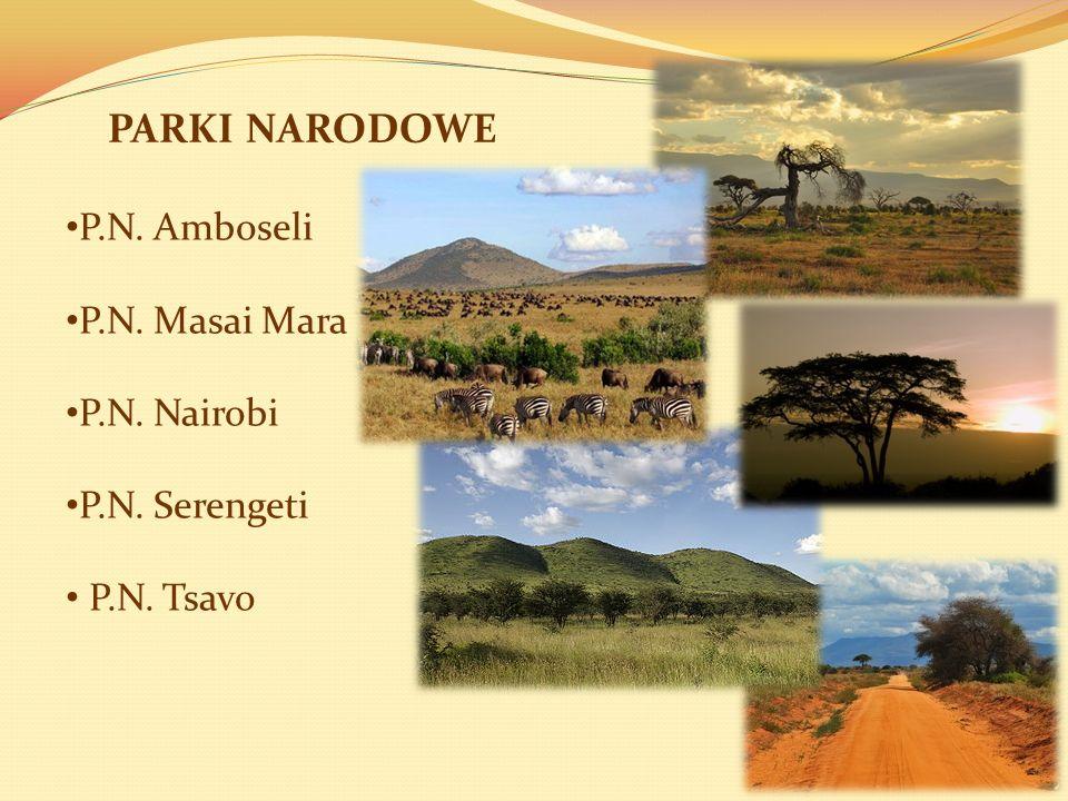 PARKI NARODOWE P.N. Amboseli P.N. Masai Mara P.N. Nairobi