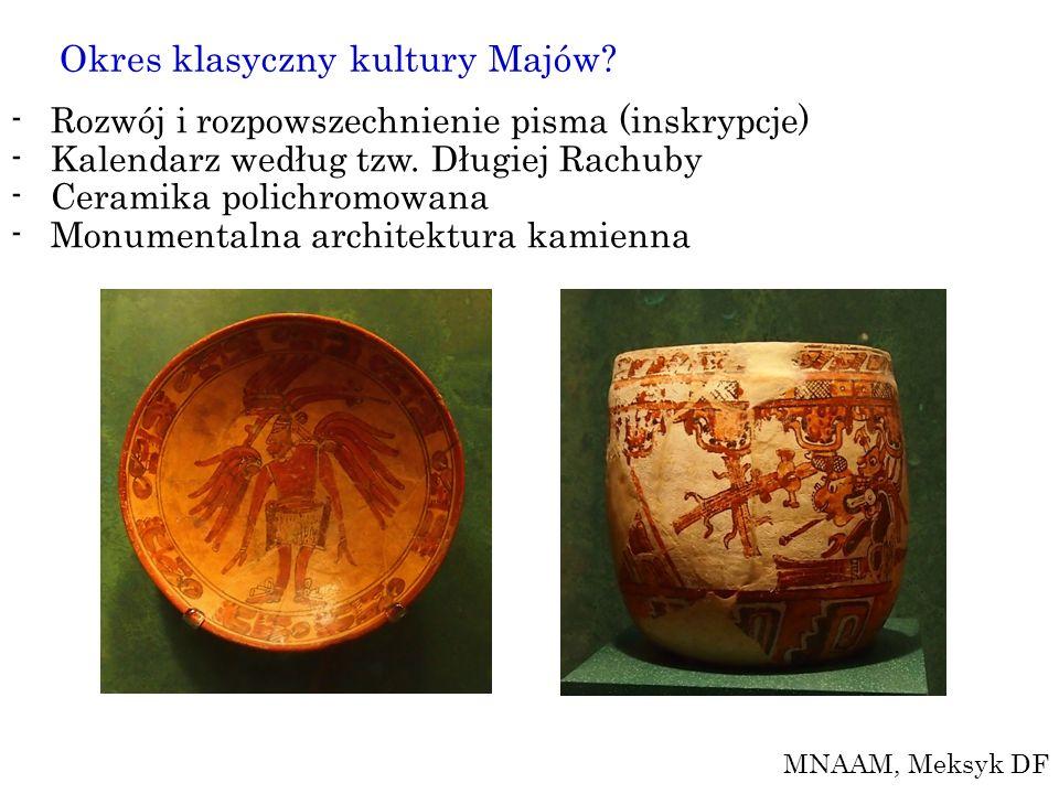 Okres klasyczny kultury Majów