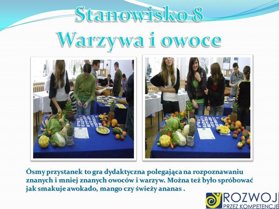 Stanowisko 8 Warzywa i owoce