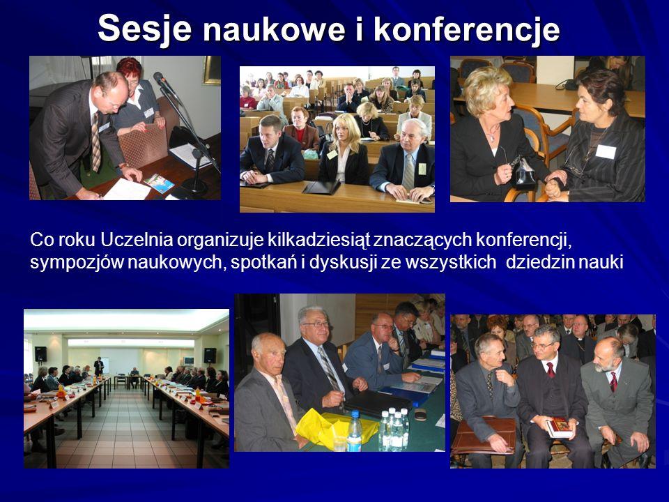 Sesje naukowe i konferencje